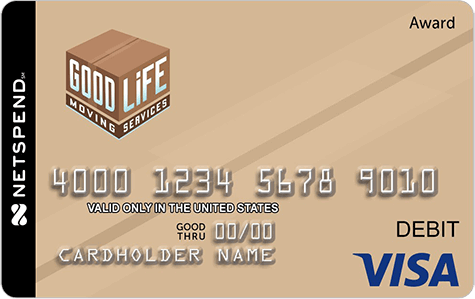 Good Life Moving Service Giftcard